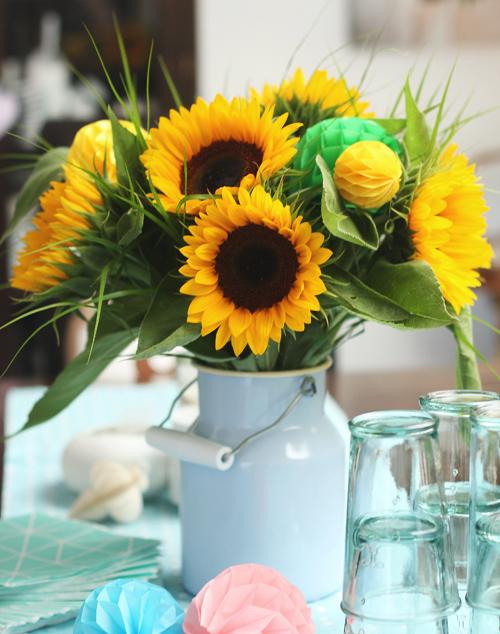 toll was sonnenblumen machen dekoration. Black Bedroom Furniture Sets. Home Design Ideas