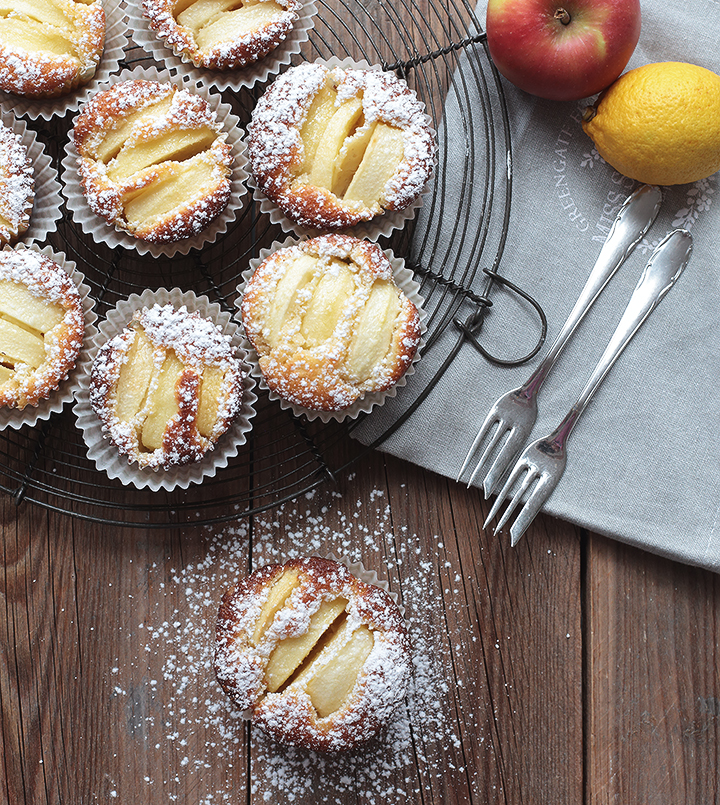 Saftige Apfeltörtchen, Apfel Muffins