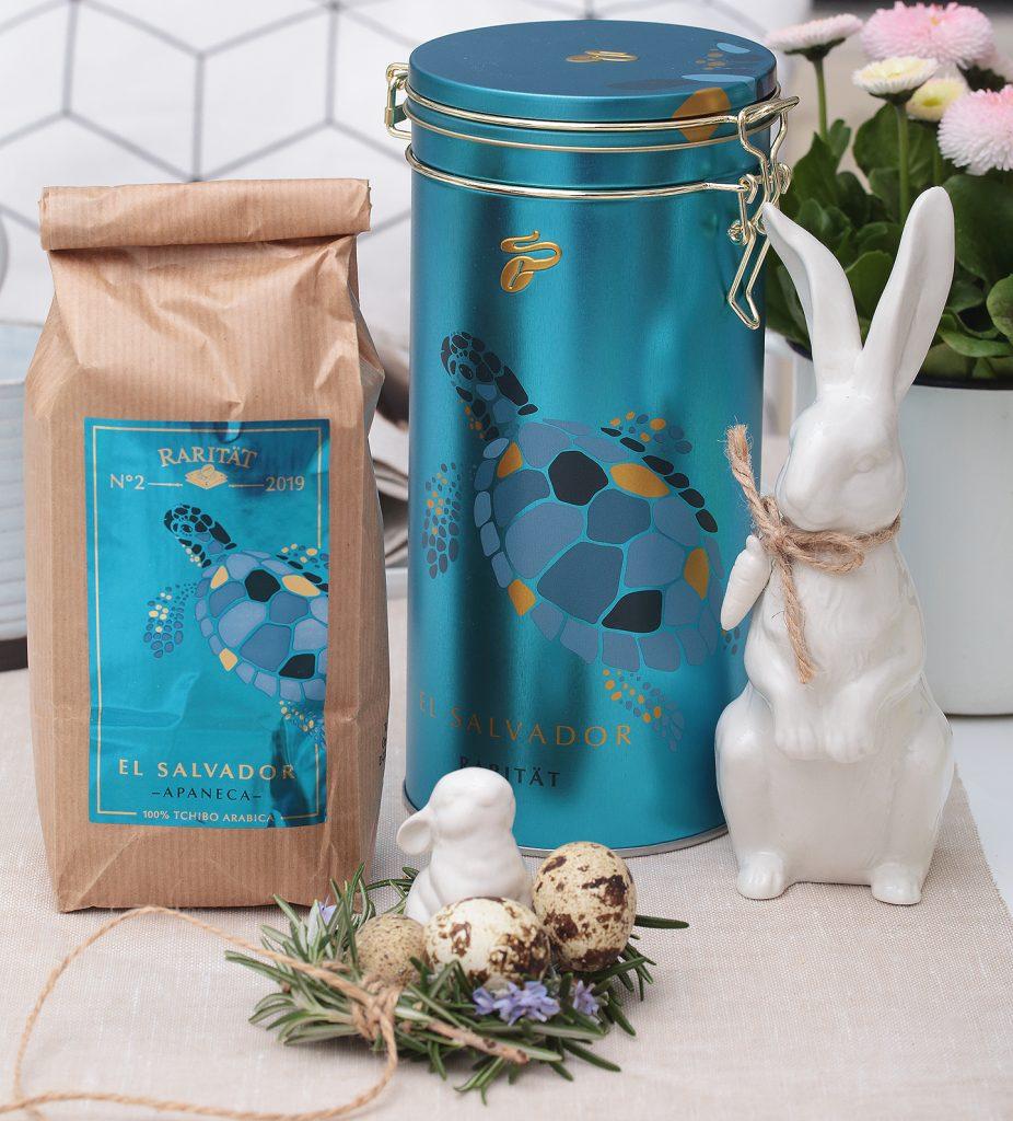 Ostertafel: Mandel-Kaffeekuchen mit Tchibo Apaneca El Salvador