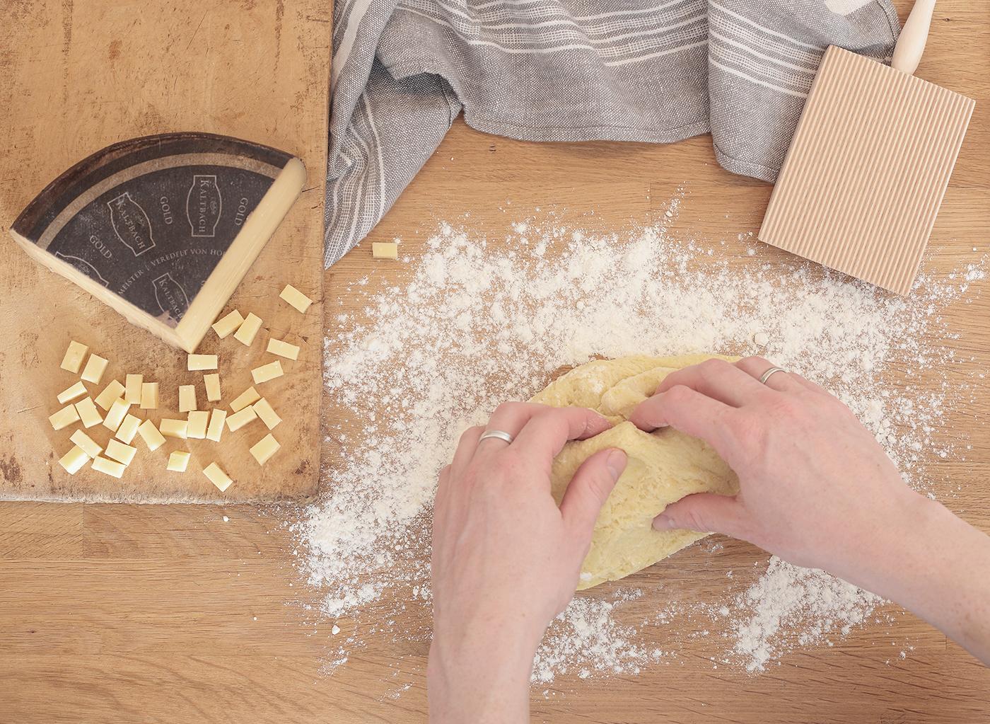 Gefüllte Gnocchi selbst gemacht Kaltbach Gold
