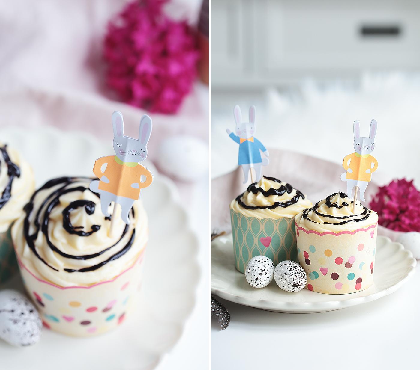Ostern Cupcakes Eierlikör Möhren