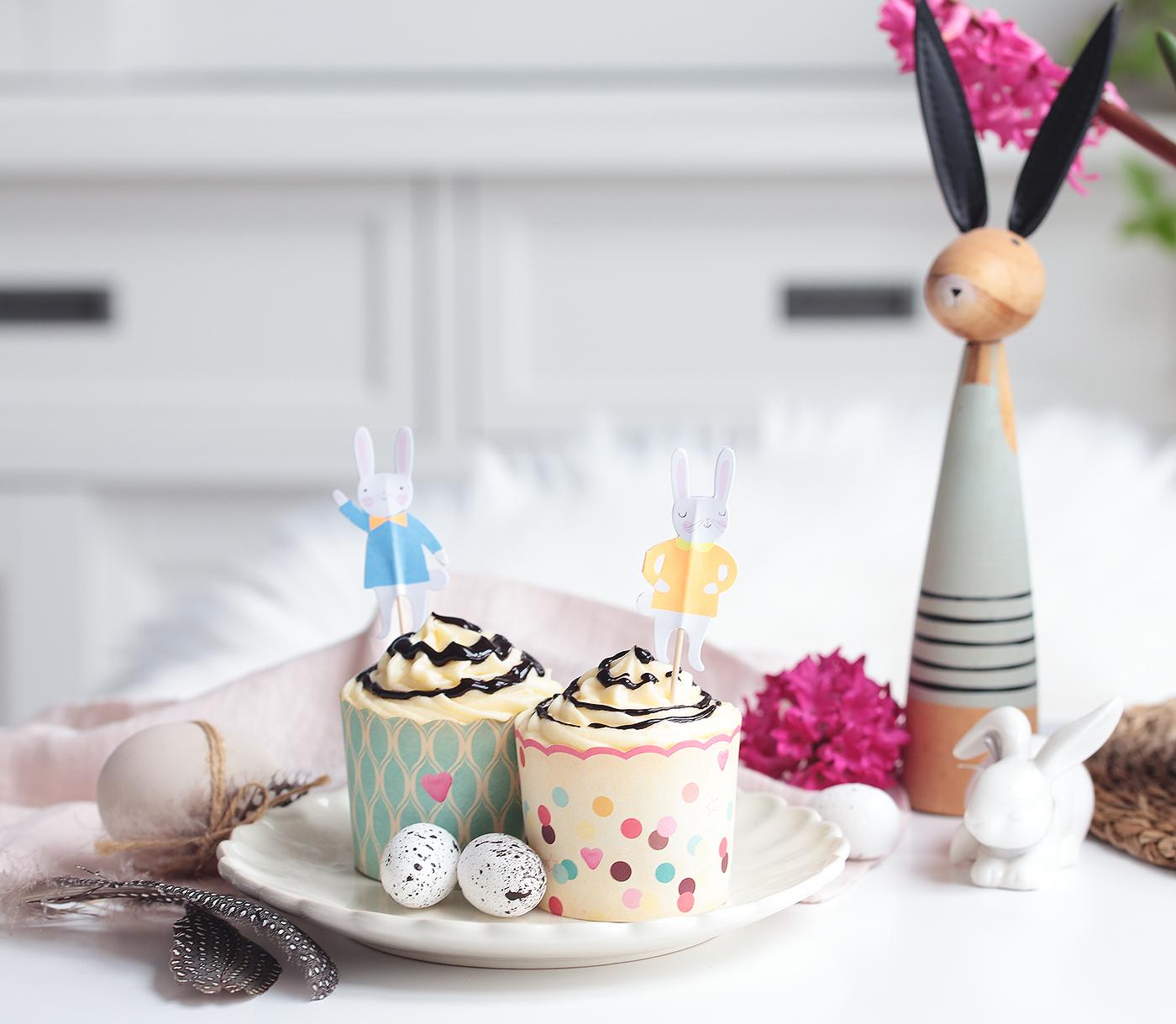 Cupcakes Ostern Möhren Eierlikör