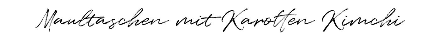 Rezept Schrift