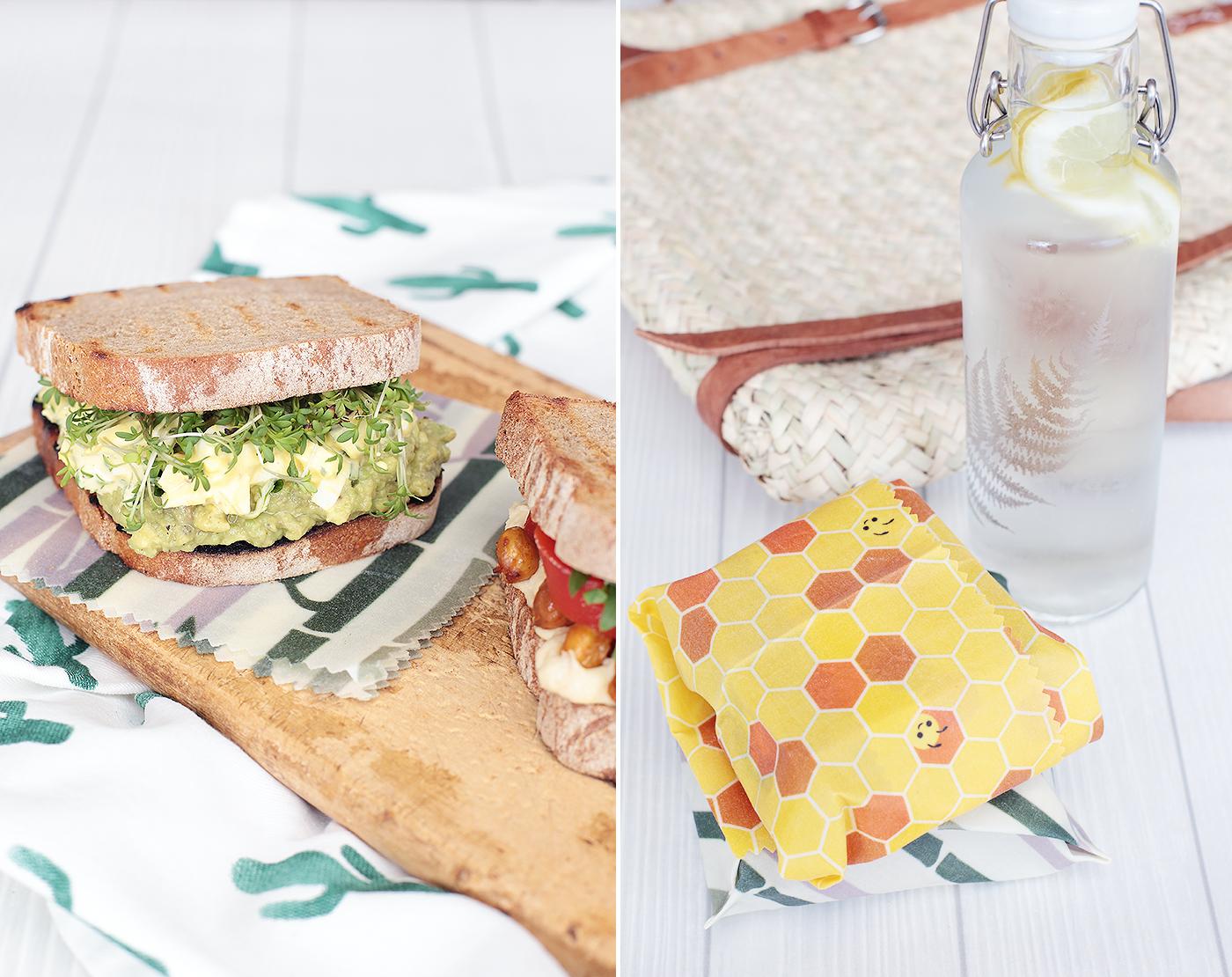 Stulle Brot Avocado Eiersalat